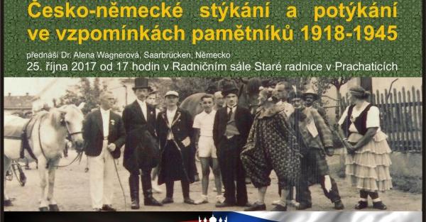 Česko-německé stýkání a potýkání ve vzpomínkách pamětníků 1918 - 1945