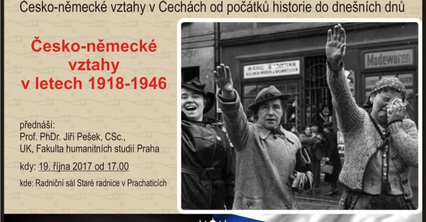 Česko-německé vztahy v letech 1918 - 1946