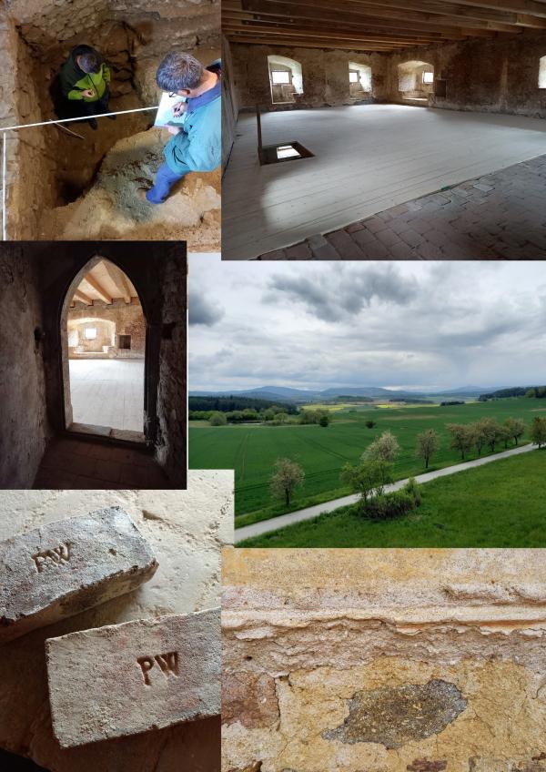 Archeologický průzkum tvrze Lipovice