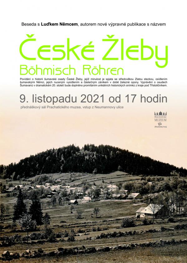 České Žleby - Bömisch Röhren, historie osady na Zlaté Stezce