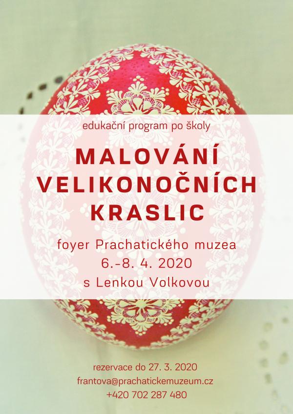 Malování velikonočních kraslic