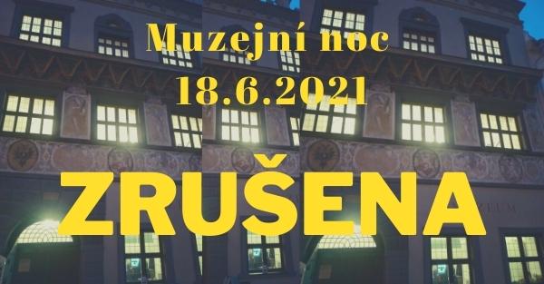 Nový termín pro Muzejní noc 2021