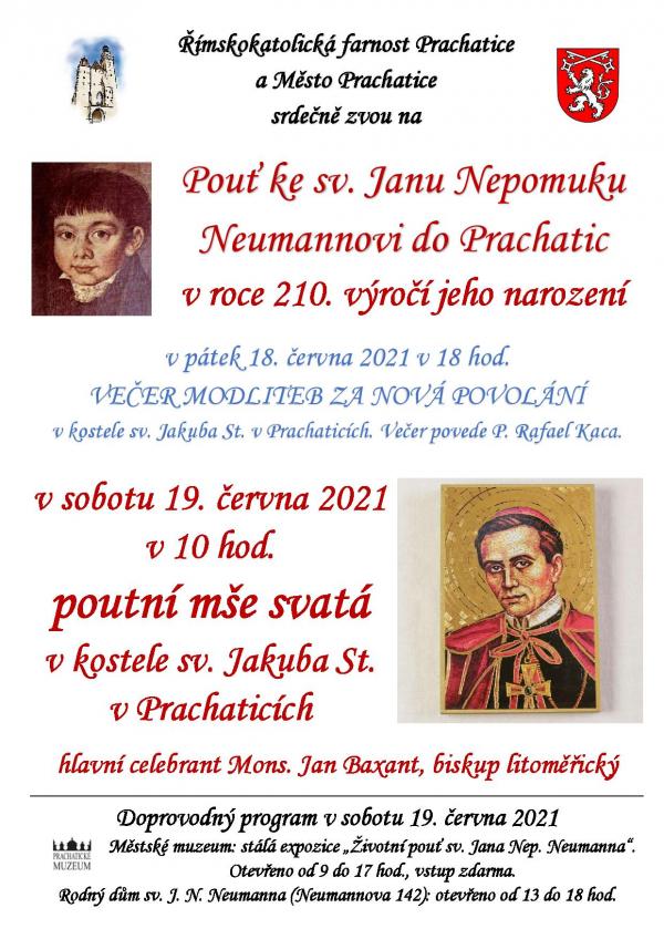 Pouť ke sv. Janu Nepomuku Neumannovi