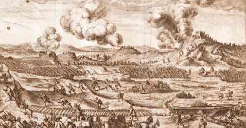 Třicetiletá válka a polní opevnění